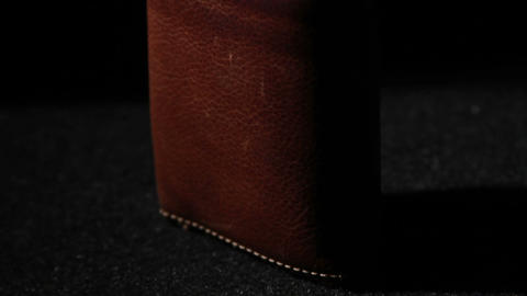 1369 Leather Wallet stock footage