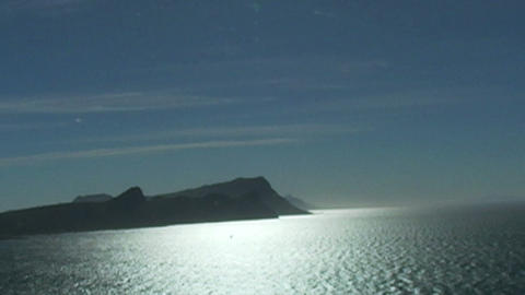 1403 Mountains Cliffs At The Tip Of Africa With Th stock footage