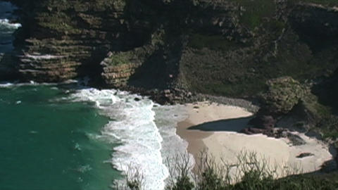 1409 Cliff Cove at the Tip of Africa with the Indi Footage