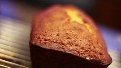 Banana Nut Bread Footage