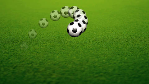 Animation of a Soccer Ball Animation