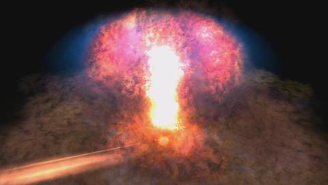 Digital Animation of an Explosion Animation