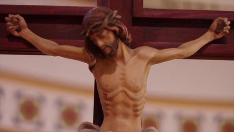 0688 Jesus on the Cross Stock Video Footage