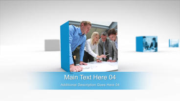 Clean Corporate Presentation After Effects Template