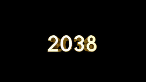 Year 2038 a HD Stock Video Footage