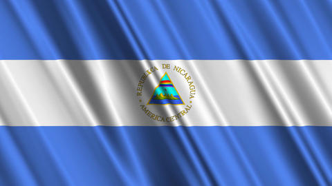 NicaraguaFlagLoop01 Animation