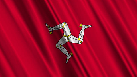 IsleOfManFlagLoop01 Animation