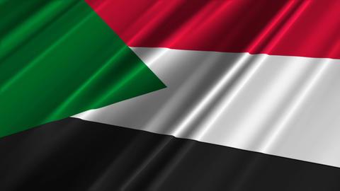 SudanFlagLoop02 Animation