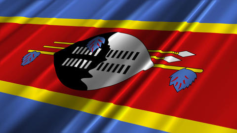 SwazilandFlagLoop02 Animation