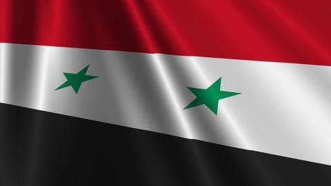 SyriaFlagLoop03 Animation