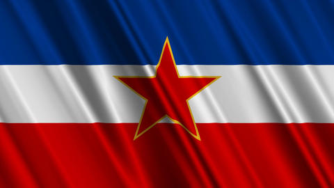 YugoslaviaFlagLoop01 Animation