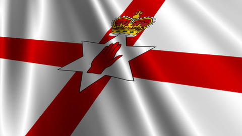 UlsterBannerNorthernIrelandFlagLoop03 Animation