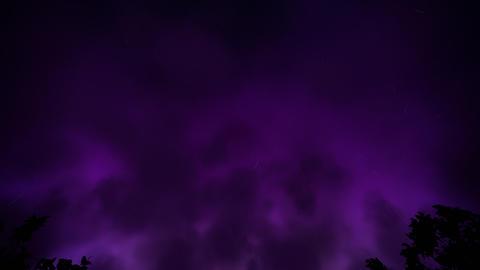 Night storm loop Stock Video Footage