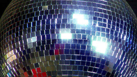 disco mirror ball center glitter Footage