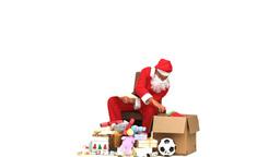 Santa Claus checking present ライブ動画