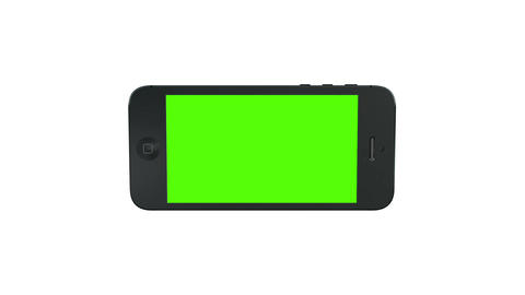 3D Smart Phone Animation with Green Screen ビデオ