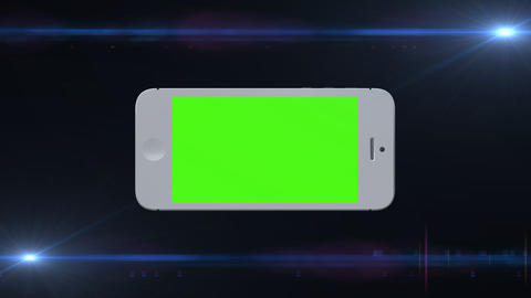 0537 3 D iphone , Green Screen and Alpha Footage
