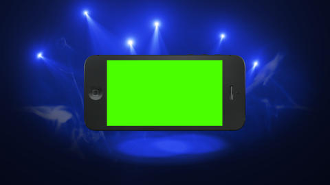 Smart Phone Animation with Green Screen and Alpha Stock Video Footage