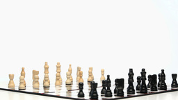 Chess Game Rotating stock footage