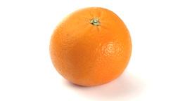 Orange rotating Stock Video Footage