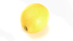 Lemon rotating Footage