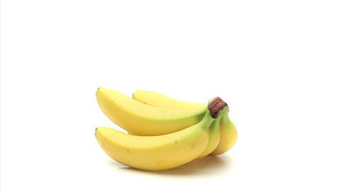 Bananas rotating Stock Video Footage
