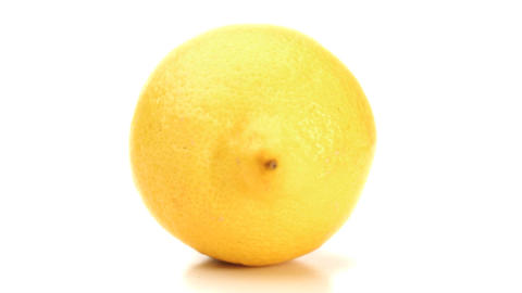 lemon rotating Stock Video Footage
