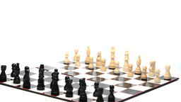 Chess board rotating Stock Video Footage