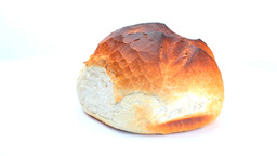 Bread roll rotating Footage