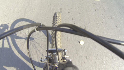 Bicycle riding Footage