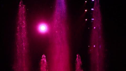 Concert Lights Flashing Footage