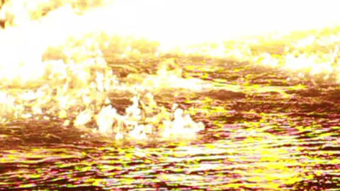 0020 Water on Fire Footage