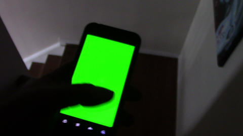 Using a Smart Phone with a Green-Screen Footage