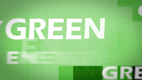 Green energy animation Animation