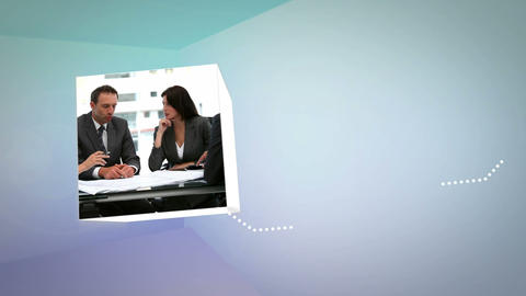 3D Animation on Business Situations Animation