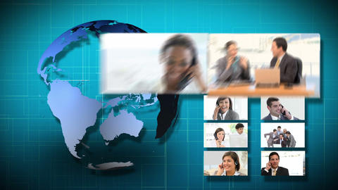 3D Animation of Business Communication Animation