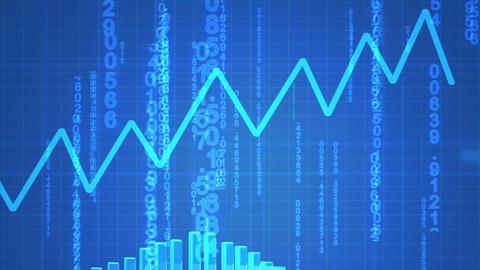Animated economical data Animation
