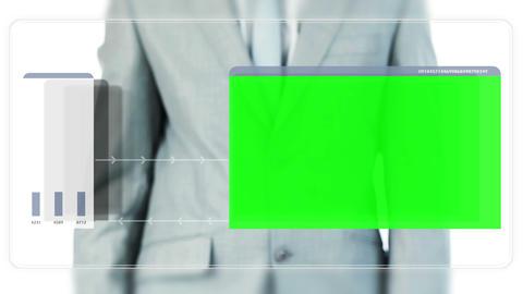 Businessman dragging videos Stock Video Footage