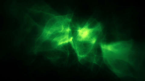 Animated green smoke Animation