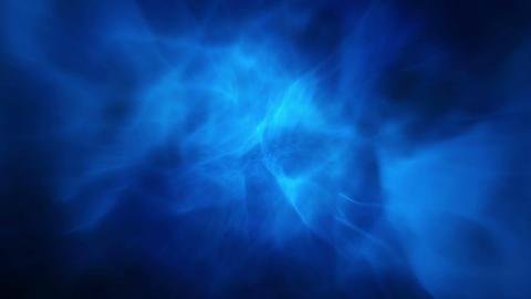Animated blue fog Stock Video Footage