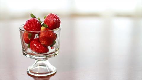 Strawberry, Wonderful Fresh Fruit Stock Video Footage