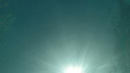 Underwater sunrays Stock Video Footage