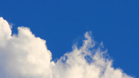 swirling white clouds Stock Video Footage