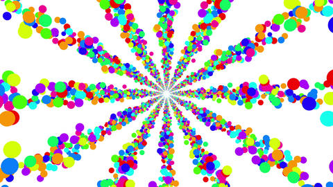 Colorful Dot BE 1 4k Stock Video Footage