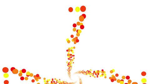 Colorful Dot DG 6 4k Animation