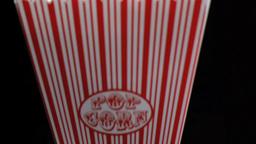 Popcorn in super slow motion falling Footage