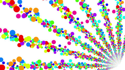 Colorful Dot BG 1 4k Stock Video Footage