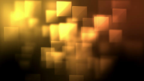 Yellow and orange squares appearing Animation