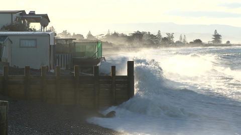 coastal erosion 1 Footage