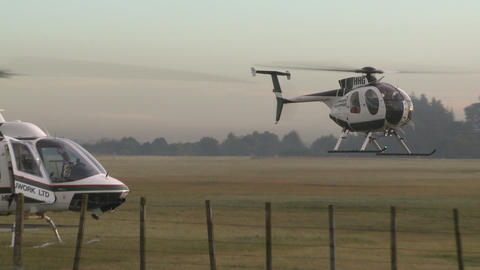 many copters Stock Video Footage